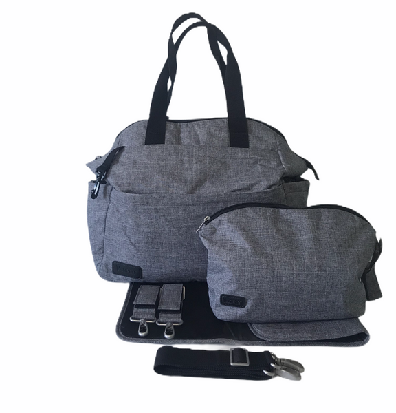 Nappy Bag - Maya - Mid Grey