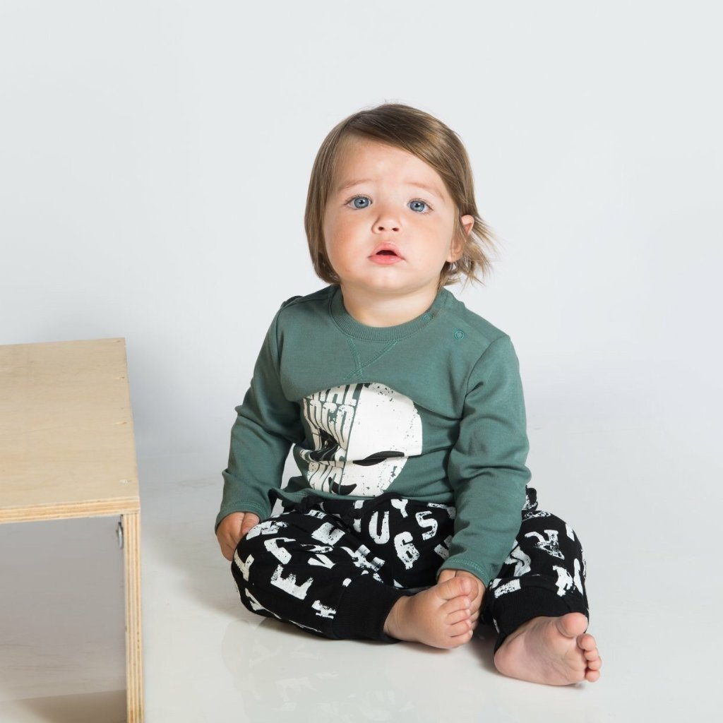Little Lads - Alien Mate - Top and Trouser Set