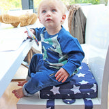 Booster Cushion - Navy Star