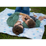 Portable Activity Blanket - Grey Stars