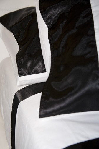 Sheet Set with Satin Trim Pillowcase
