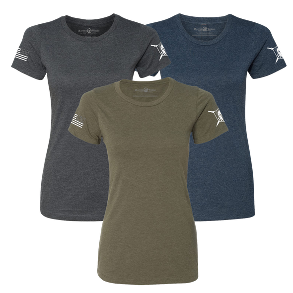Women Warriors Basic Premium T-Shirt Limited Package - MasterWorks Clothing Co.