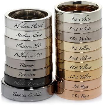 rose gold, white gold, yellow gold, silver, which precious metals best suits you?