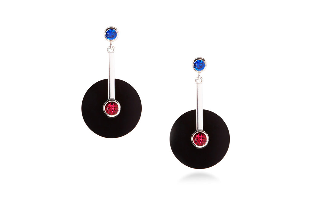 contemporary-gemstone-earrings-Sydney-jeweller-Lizunova-Fine-Jewels-Chifley-Square
