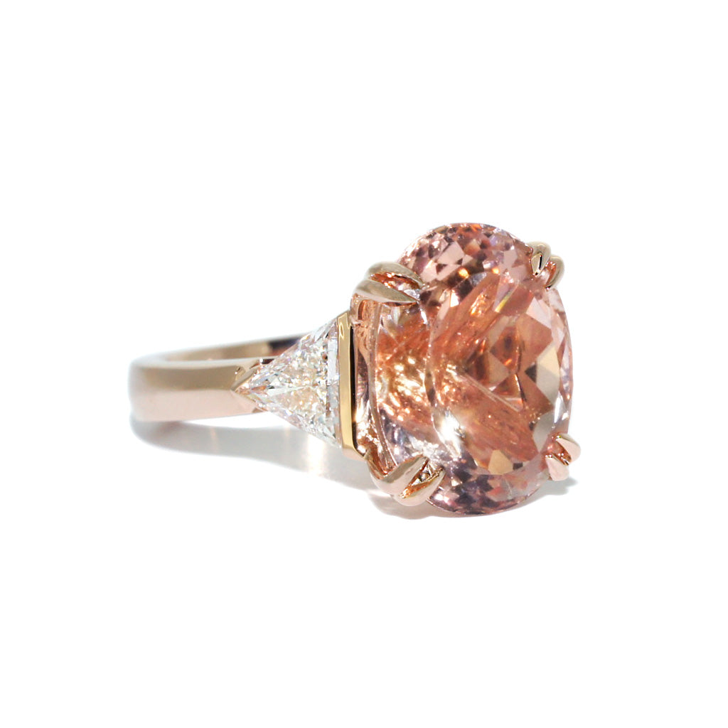 bespoke-custom-made-engagement-ring-diamond-morganite-rose-gold-sydney-jewellers-lizunova-chifley-square