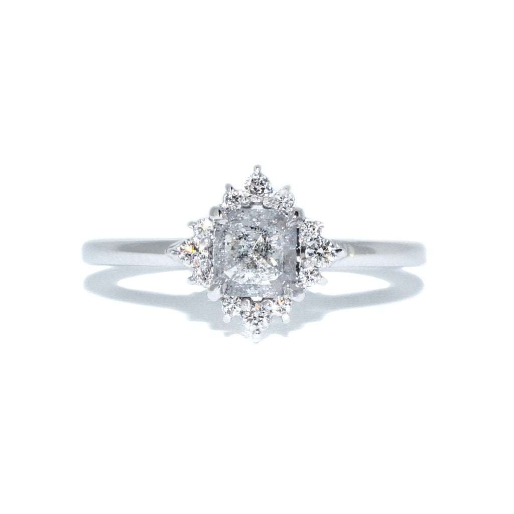 salt-and-pepper-diamond-engagement-ring-14k-white-gold-by-sydney-jewellery-designer-jeweller-lizunova-chifley-square