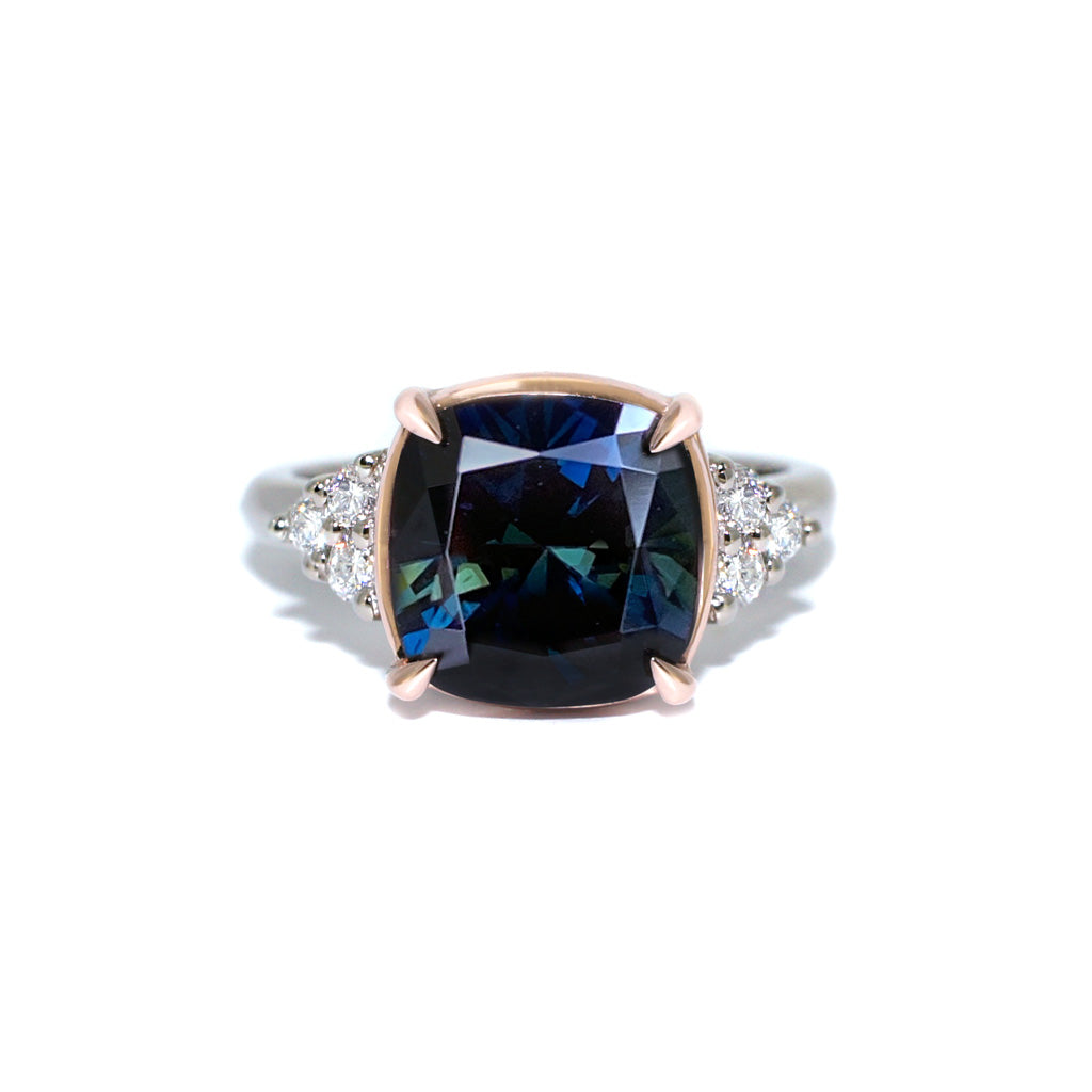 Parti-sapphire-diamond-custom-engagement-ring-Sydney-jeweller-Lizunova-Fine-Jewels-Chifley-Square