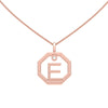 Personalised-Initial-E-diamond-rose-gold-pendant-by-Sydney-jewellers-Lizunova