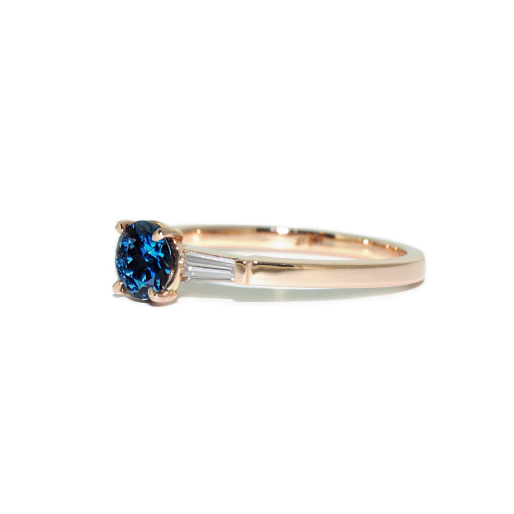 teal-sapphire-engagement-ring-with-baguette-diamonds-by-sydney-jewellers-lizunova-chifley-square