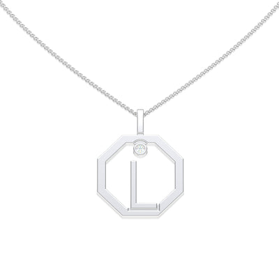 Personalised-Initial-L-diamond-white-gold-pendant-by-Sydney-jewellers-Lizunova