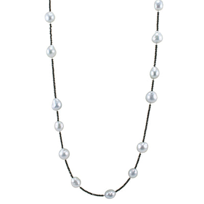 South-Sea-pearl-necklace-black-spinel-Sydney-jewellers-Lizunova