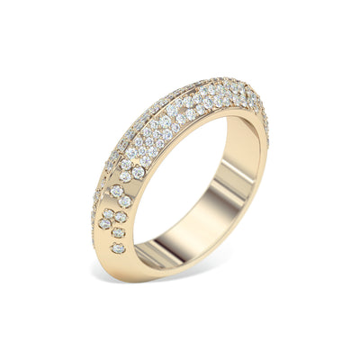 yellow-Gold-knife-edge-diamond-wedding-ring-sydney-jeweller-lizunova