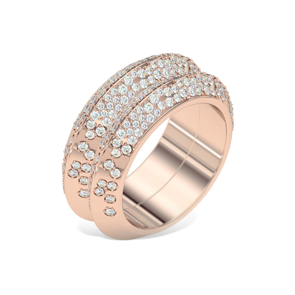 diamond-knife-edge-double-ring-rose-gold-sydney-jeweller-lizunova