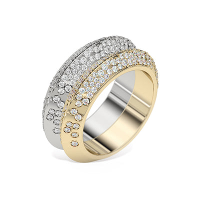 diamond-knife-edge-double-ring-white-yellow-gold-sydney-jeweller-lizunova