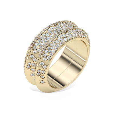 diamond-knife-edge-double-ring-yellow-gold-sydney-jeweller-lizunova