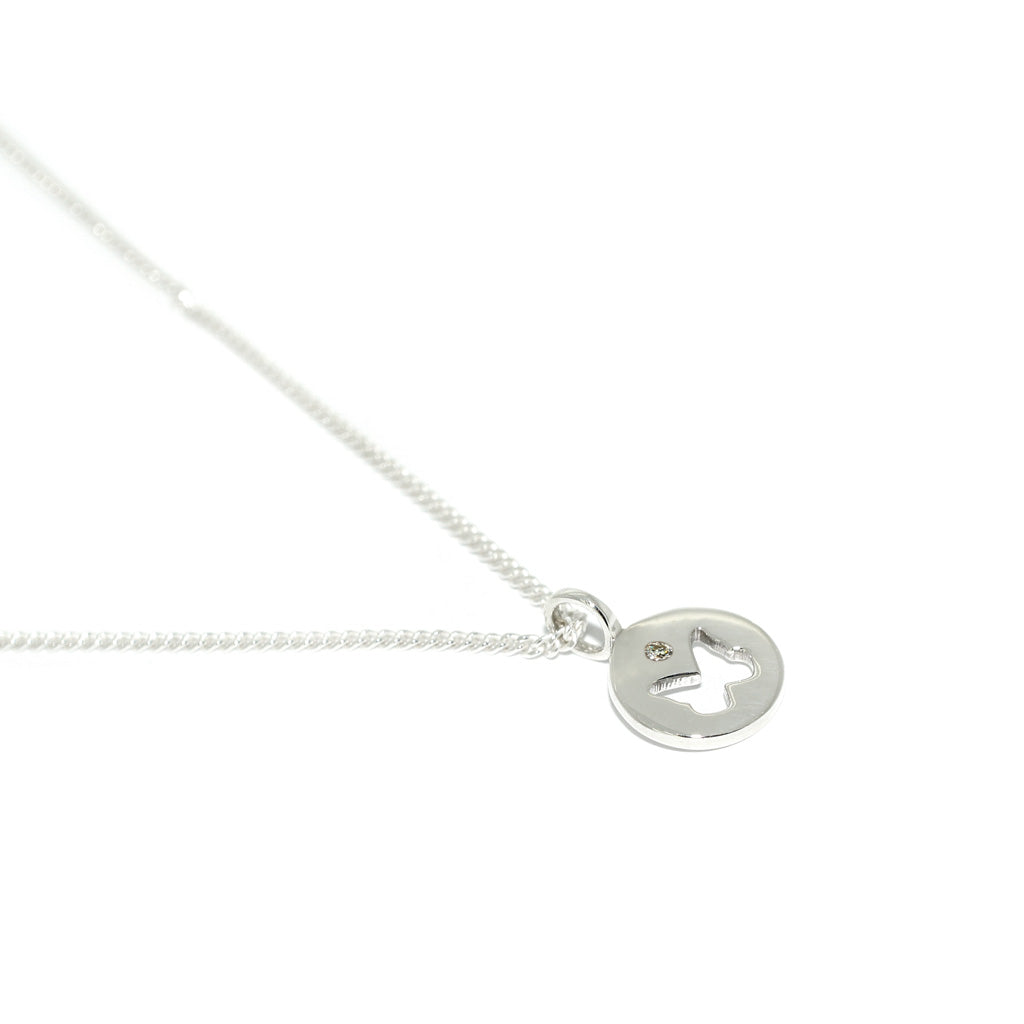 Silver-diamond-pendant-necklace-Sydney-jewellers-Lizunova-for-Kyup-Project