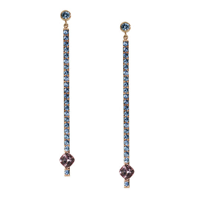 sapphire-malaya-garnet-rose-gold-drop-earrings-sydney-jewellery-designer-lizunova