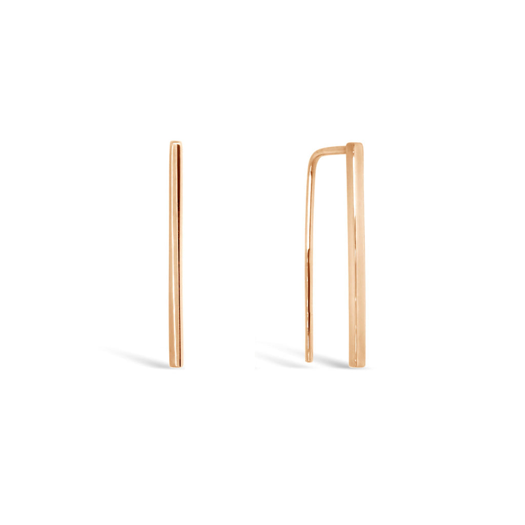 geometric-line-earrings-rose-gold-contemporary-sydney-jeweller-lizunova