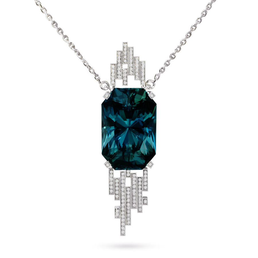 custom-made-bespoke-platinum-diamond-necklace-teal-topaz-sydney-jewellers-lizunova