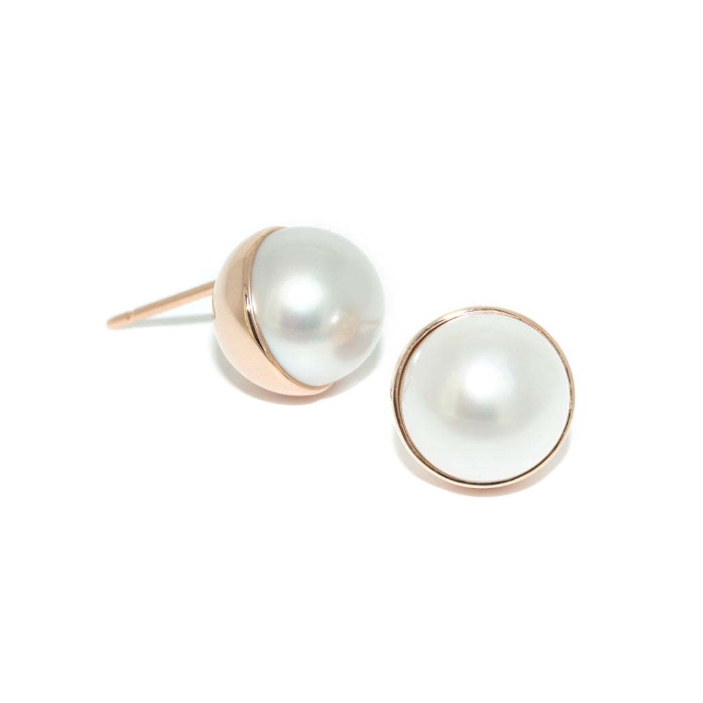 rose-gold-south-sea-pearl-stud-earrings-sydney-jewellers-lizunova
