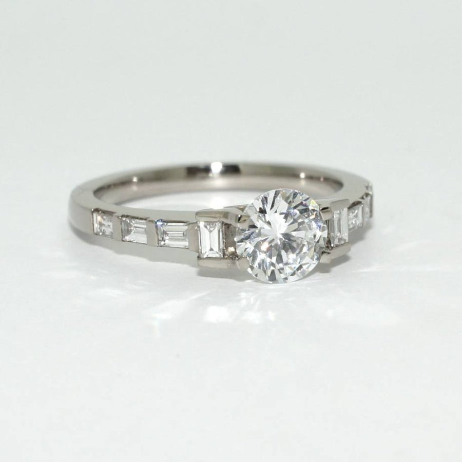 Art-Deco-diamond-engagement-ring-white-gold-baguette-diamonds
