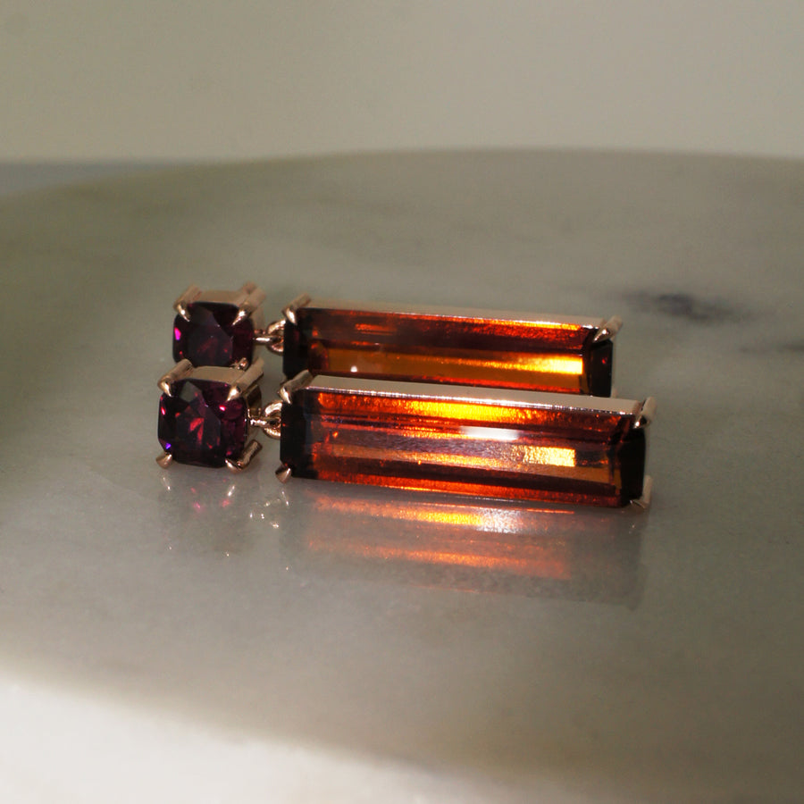 custom-made-rose-gold-garnet-earrings-sydney-jewellers-lizunova