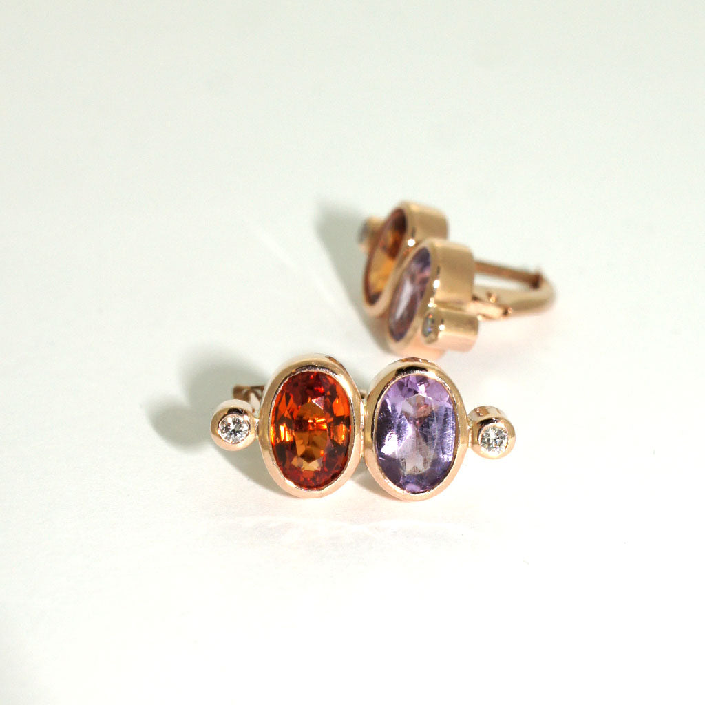 custom-rose-gold-earrings-sapphire-diamond-amethyst-sydney-jewellery-designer-lizunova