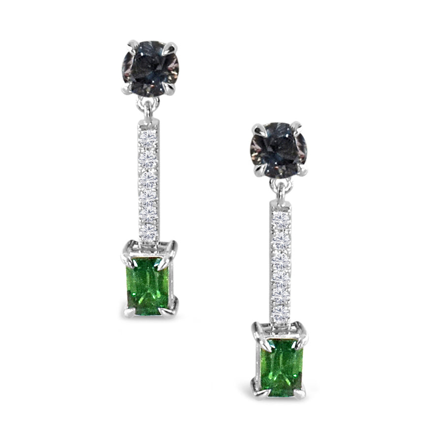 custom-made-earrings-tsavorite-spinel-diamonds-white-gold-sydney-jewellery-designer-lizunova