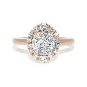 custom-made-rose-gold-diamond-halo-engagement-ring-sydney-jewellers-lizunova