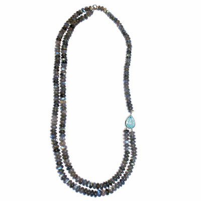 contemporary-Labradorite-topaz-white-gold-necklace-Sydney-jewellers-Lizunova