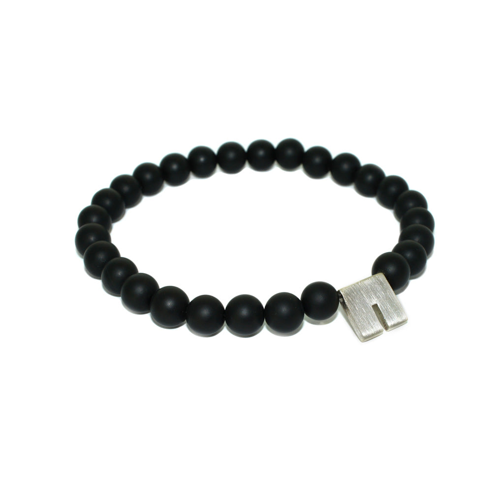 mens-bracelet-onyx-beads-sterling-silver-by-sydney-jewellers-lizunova-chifley-square