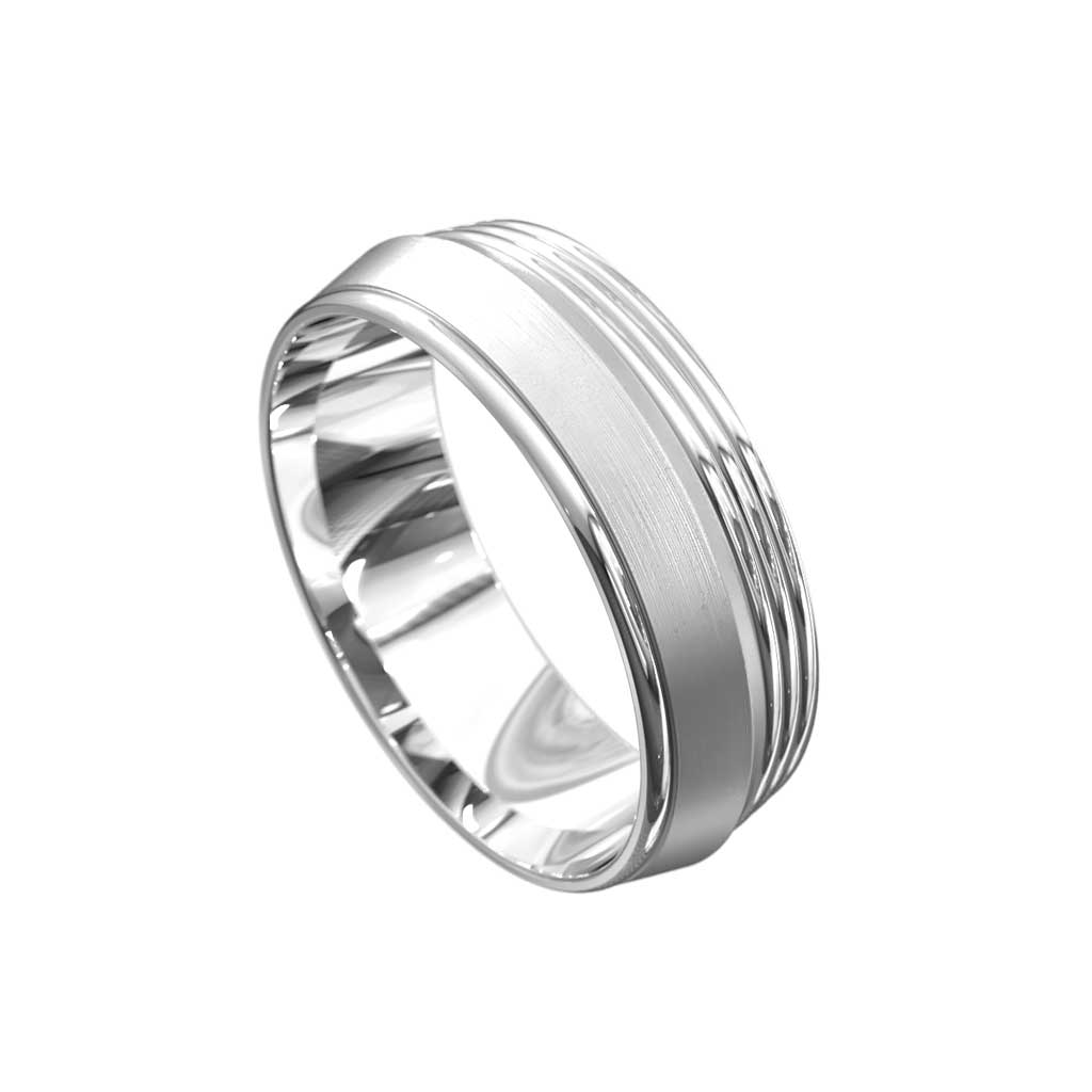 Archie | Mens wedding band