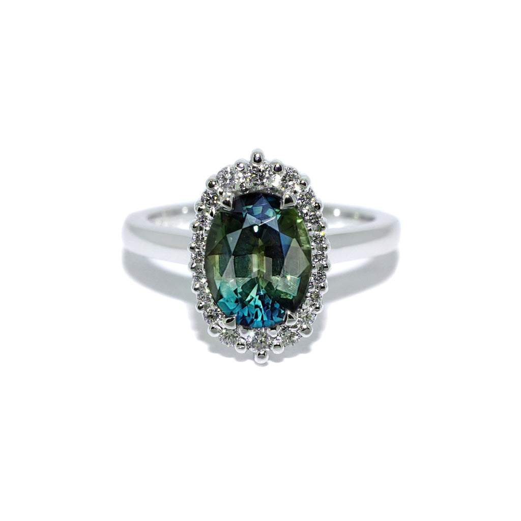 parti-sapphire-diamond-engagement-ring-Sydney-jeweller-Lizunova-Chifley-Square