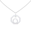 Personalised-Initial-Q-diamond-white-gold-pendant-by-Sydney-jewellers-Lizunova