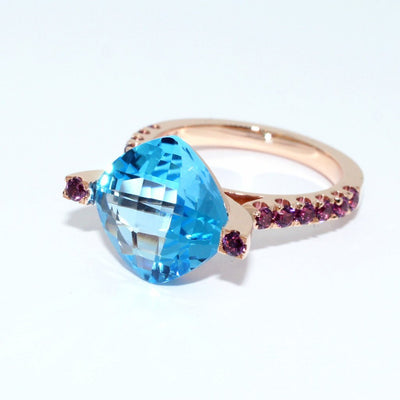 Bespoke-Rose-gold-ring-topaz-rhodolites-custom-made-sydney-jeweller-lizunova