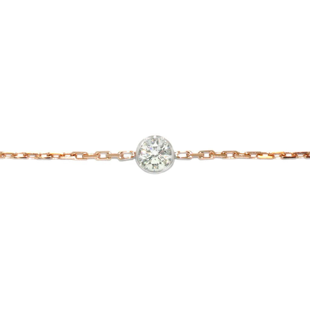 Diamond-chain-bracelet-rose-gold-white-gold-sydney-jewellers-lizunova
