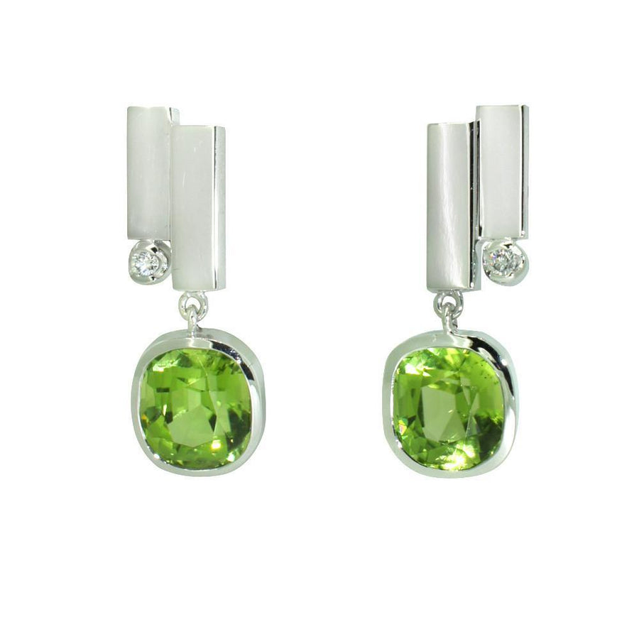art-deco-white-gold-peridot-diamond-earrings-contemporary-sydney-jeweller-lizunova