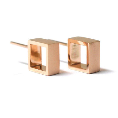 geometric-square-hoop-earrings-rose-gold-contemporary-sydney-jeweller-lizunova