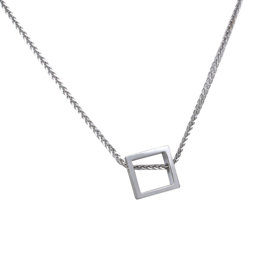 geometric-square-pendant-necklace-white-gold-contemporary-sydney-jeweller-lizunova