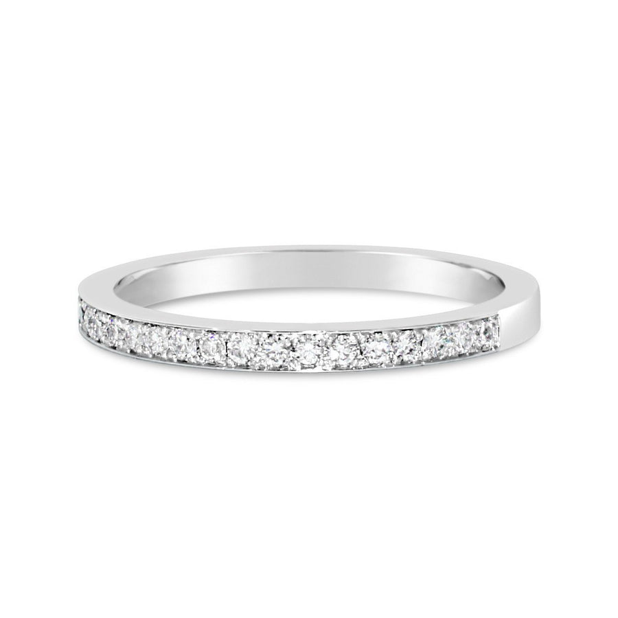 Diamond-half-band-white-gold-wedding-ring-sydney-jeweller-lizunova