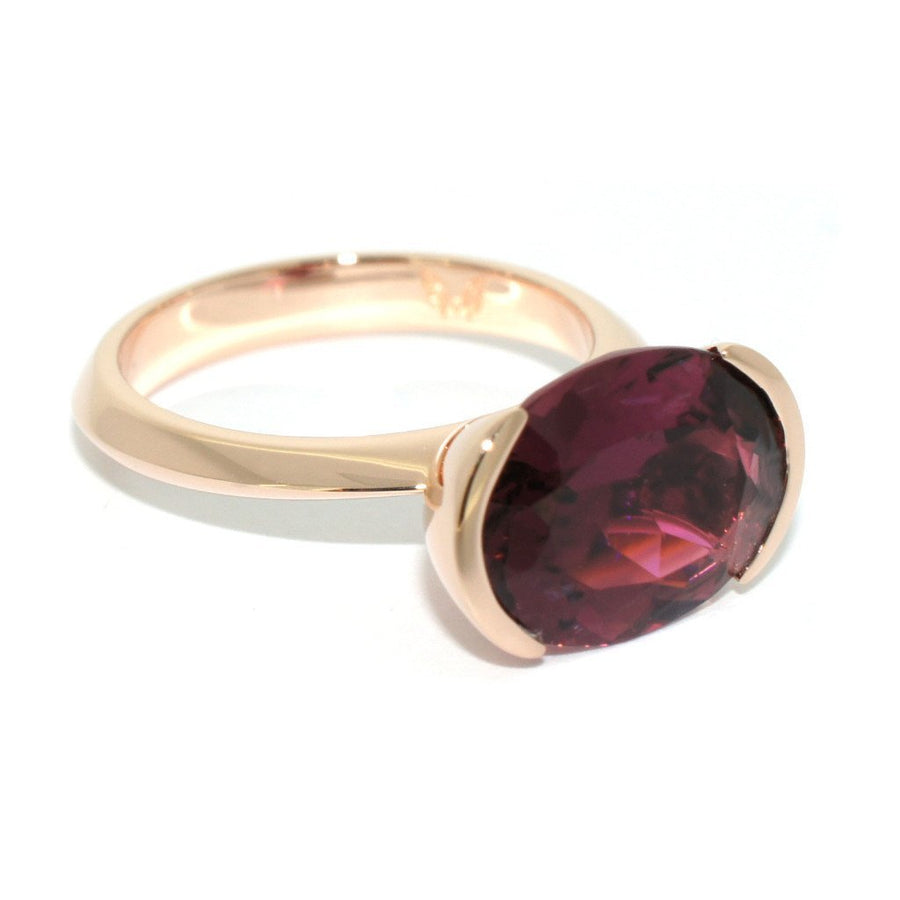 rose-gold-pink-tourmaline-cocktail-ring-contemporary-sydney-jeweller-lizunova