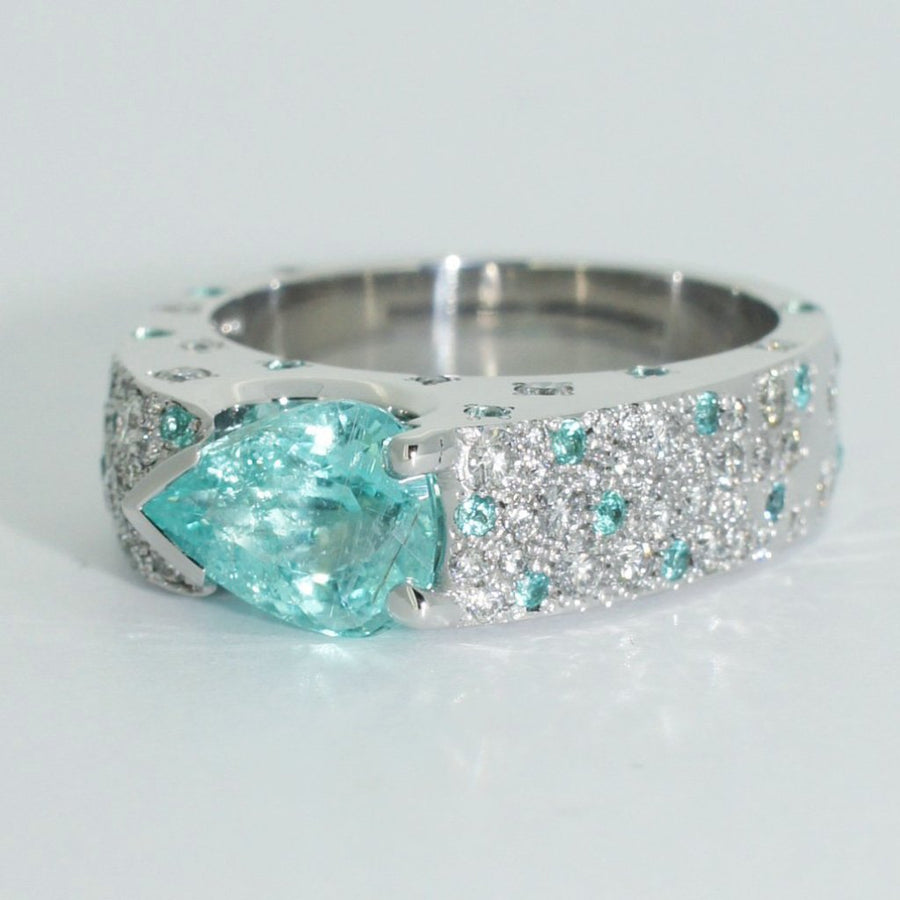 Paraiba-tourmaline-diamond-white-gold-ring-by-Sydney-jewellery-designer-Lizunova