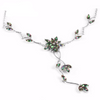 Lovely Flower Mystic Rainbow Topaz Necklace