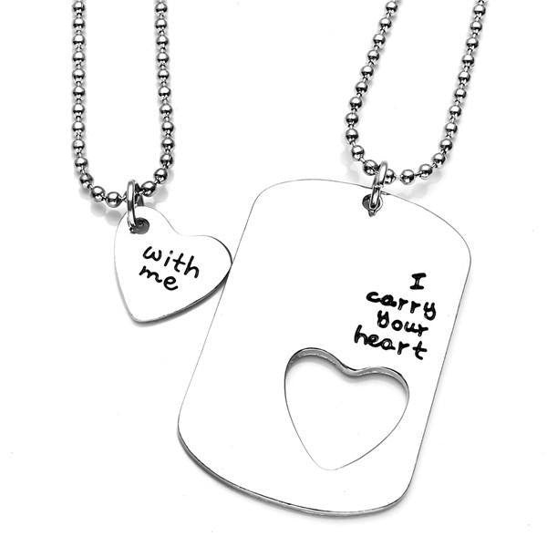 I Carry Your Heart With Me Necklace