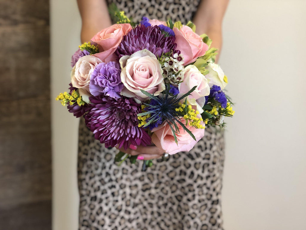 Colorful Bridal Bouquet - Mikells Florist