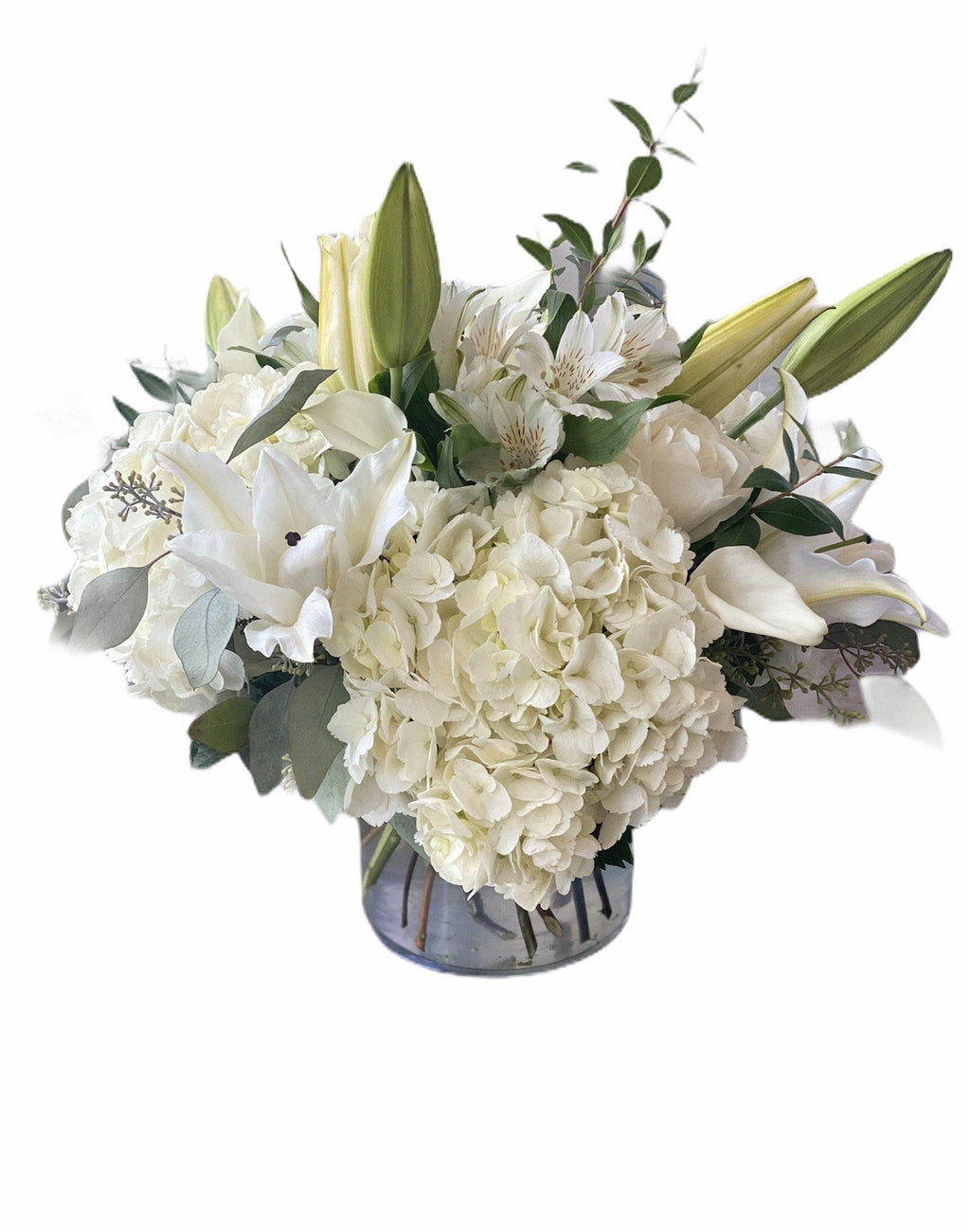 Simply White Cut Arrangement