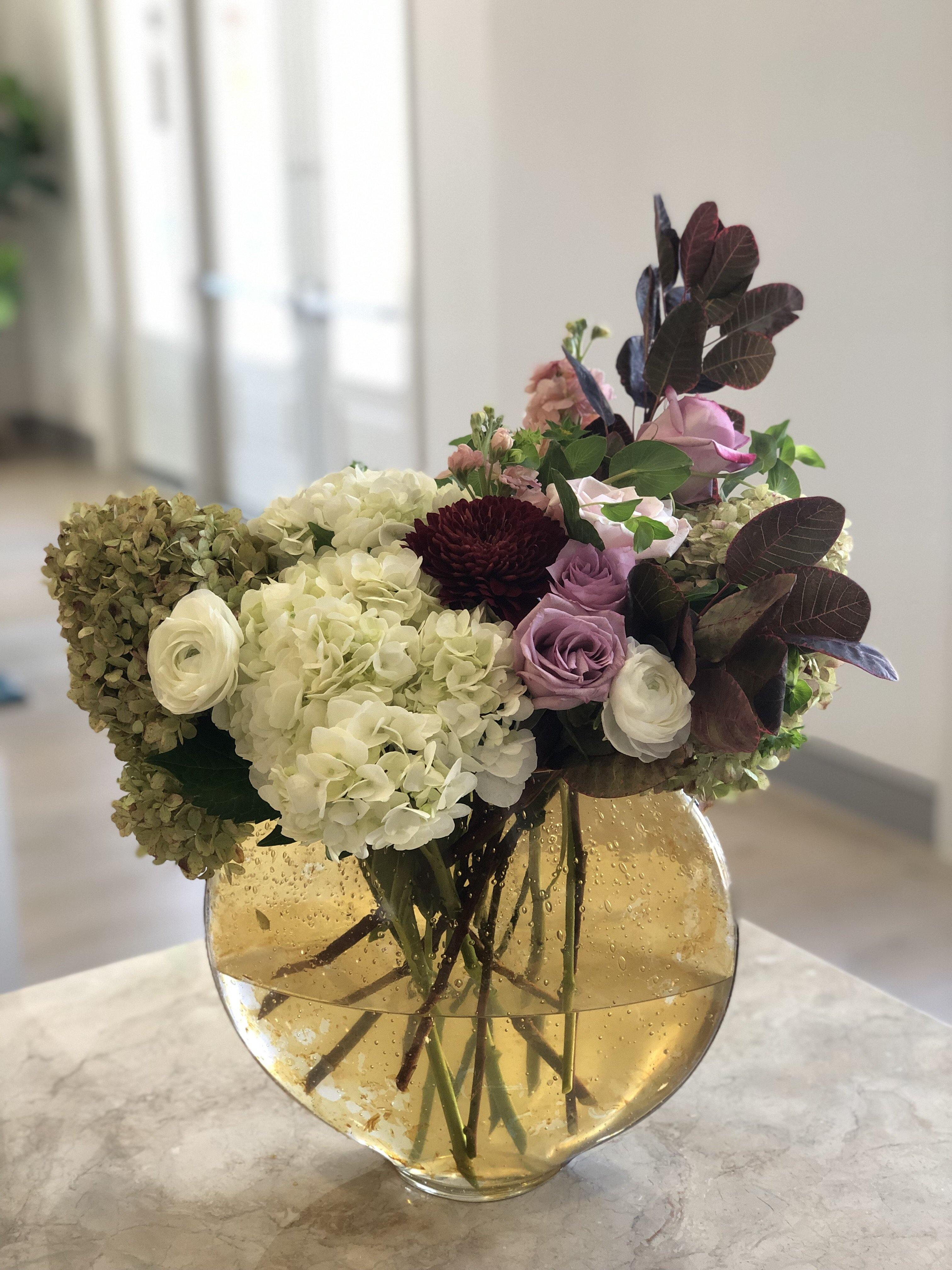 Contemporary Colors - Mikells Florist