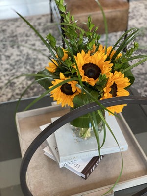 Elegant Sunflowers