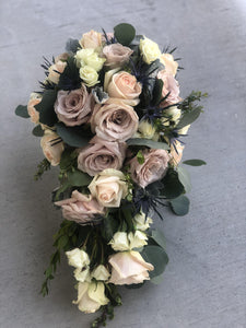 Wedding Cascade Bridal Bouquet - Mikells Florist
