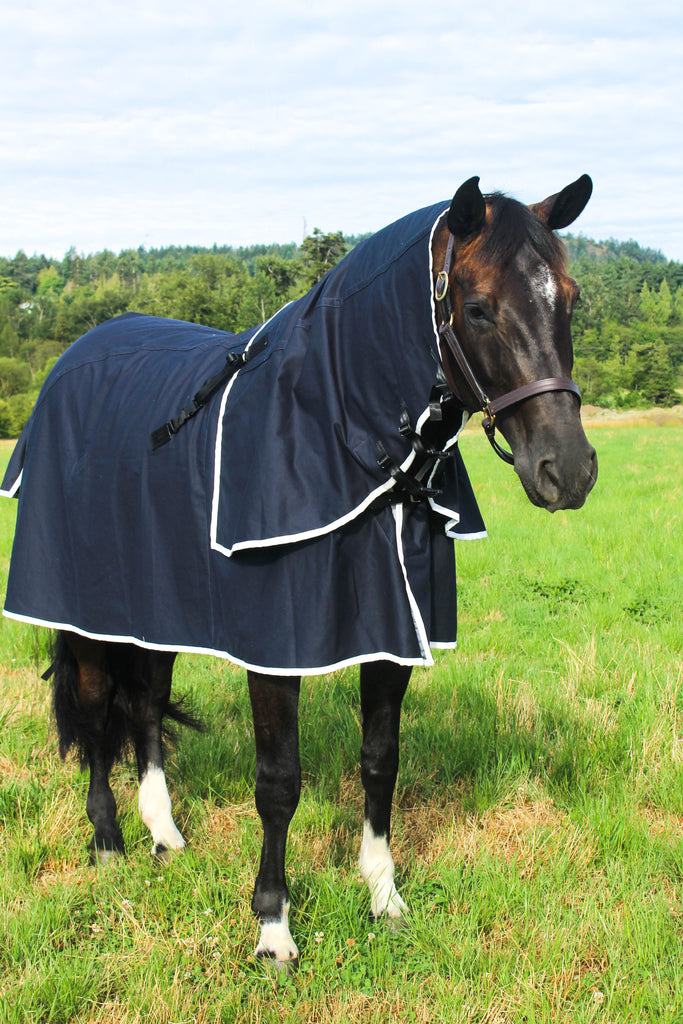 Heavyweight Cotton Drill Deluxe 3 Piece Horse Rug